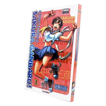 Street Fighter: Sakura Ganbaru! Vol. 1 - Pré-venda