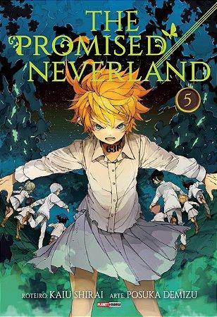 The Promised Neverland Vol. 5 - Pré-venda