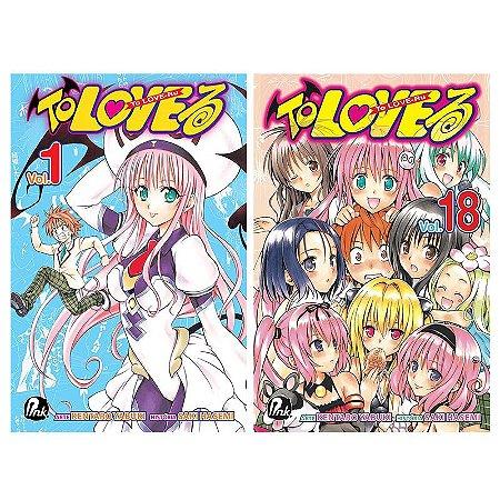 To Love Ru Vol. 1 ao 18 - Pré-venda