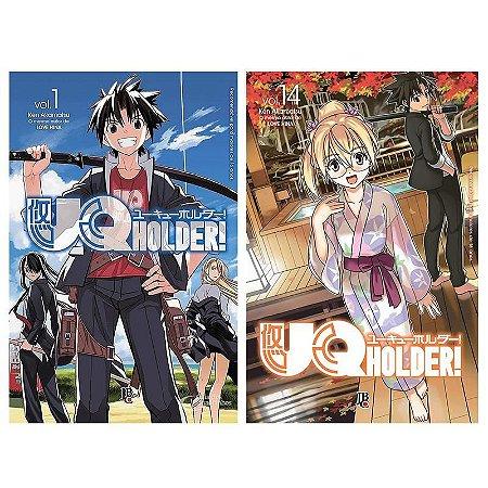 UQ Holder Vol. 1 ao 14 - Pré-venda