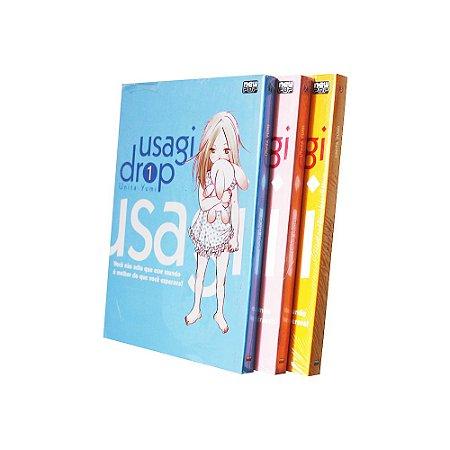 Usagi Drop Vol. 1 ao 3 - Pré-venda