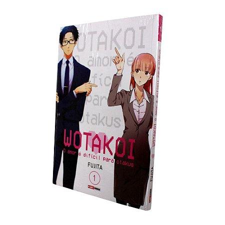 Wotakoi: O Amor É Difícil Para Os Otakus Vol. 1- Pré-venda