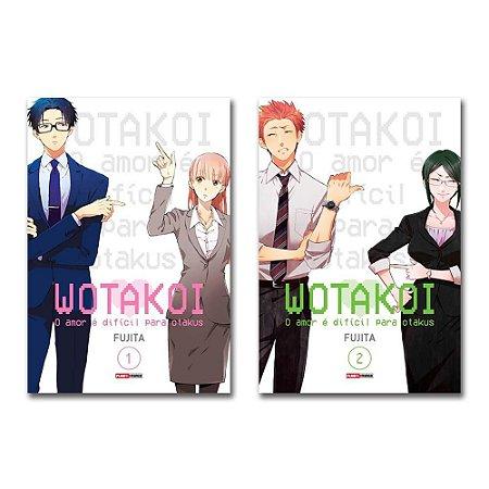 Wotakoi: O amor é difícil para os otakus Vol.1 e 2 - Pré-venda