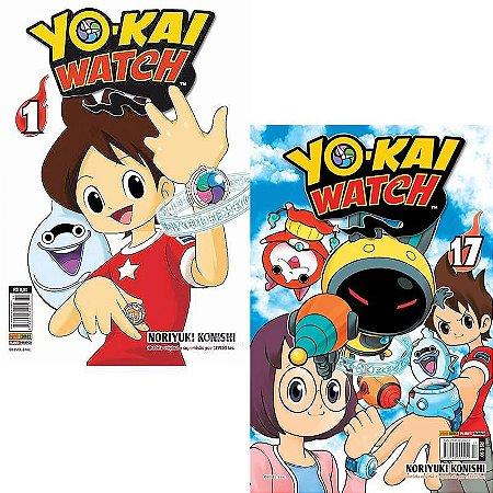 Yo-kai Watch Vol. 1 ao 17 - Pré-venda