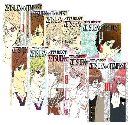Zetsuen no Tempest Vol. 1 ao 10 - Pré-venda