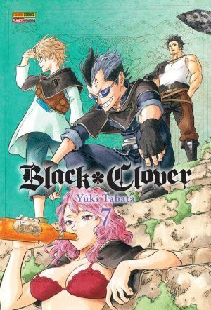 Black Clover Vol. 7 - Pré-venda