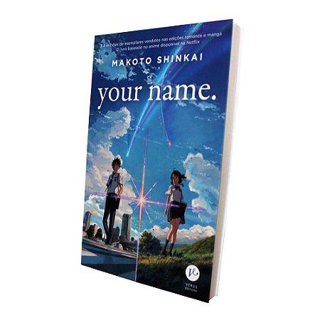 Light Novel Your Name - Pré-venda