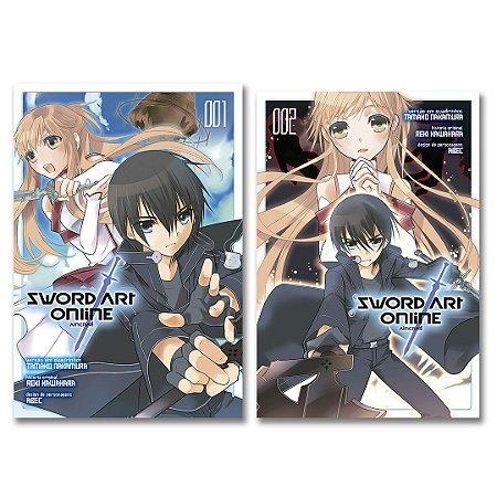 Sword Art Online - Aincrad Vol. 1 e 2 - Pré-venda