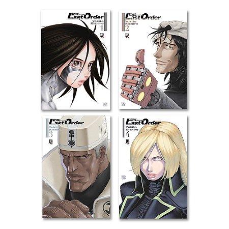 Battle Angel Alita - Last Order Vol. 1 ao 4 - Pré-venda