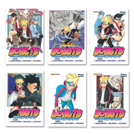 Boruto - Naruto Next Generations Vol. 1 ao 6 - Pré-venda