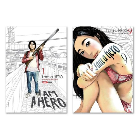 I Am A Hero Vol. 1 ao 9 - Pré-venda