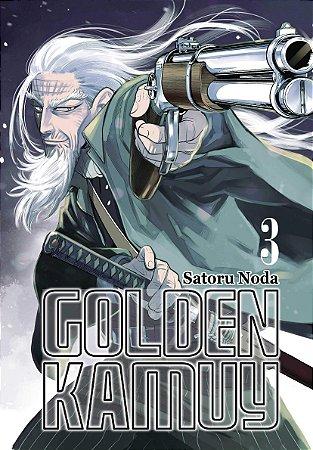Golden Kamuy Vol. 3 - Pré-venda