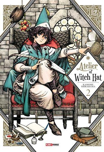 Atelier of Witch Hat Vol.2 - Pré-venda