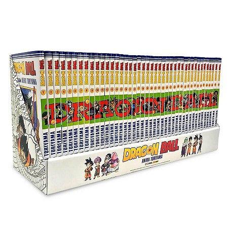 Box Dragon Ball Vol. 1 ao 42 - Pré-venda
