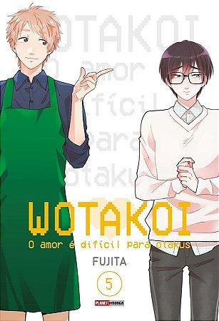 Wotakoi: O amor é difícil para os otakus Vol. 5 - Pré-venda