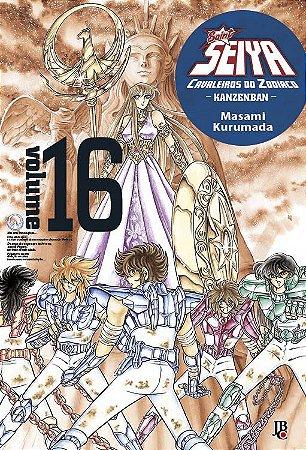Cavaleiros do Zodíaco - Kanzenban Vol. 16 - Pré-venda