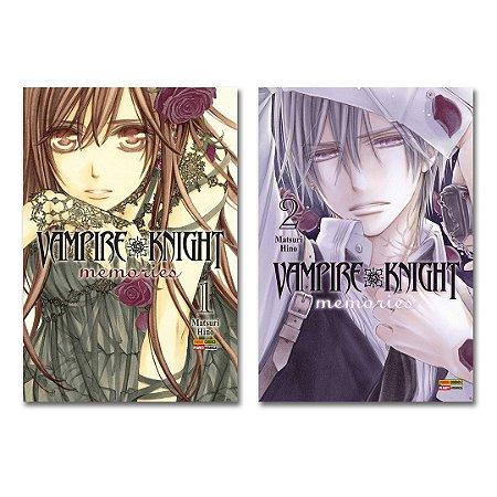 Vampire Knight Memories Vol.1 e 2 - Pré-venda