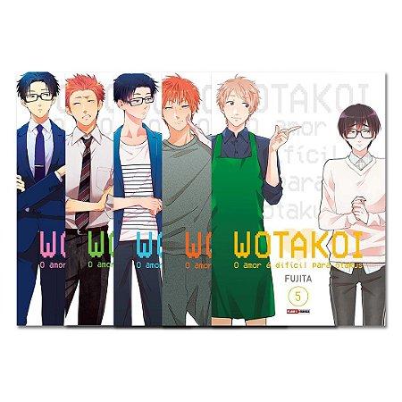 Wotakoi: O amor é difícil para os otakus Vol. 1 ao 5 - Pré-venda