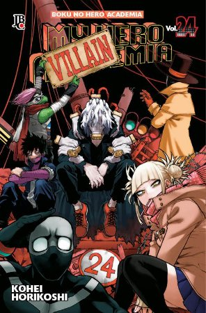 My Hero Academia Vol. 24 - Pré-venda