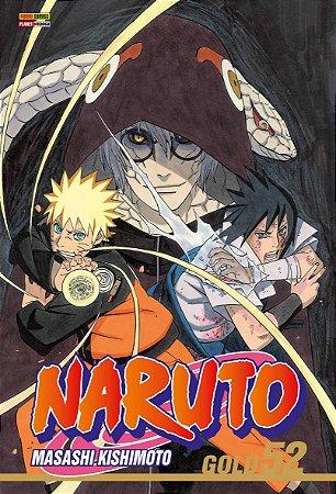 Naruto Gold Vol.52 - Pré-venda