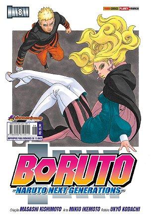 Boruto - Naruto Next Generations Vol.8 - Pré-venda
