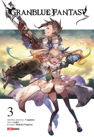 Granblue Fantasy Vol. 3 - Pré-venda
