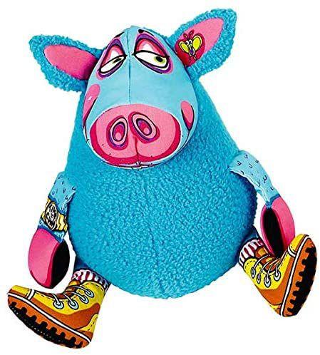 Brinquedo para Cachorros Pelúcia Gruntleys Mini Azul