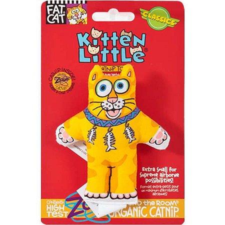 Brinquedo para Gatos Kitten Little Laranja com Catnip