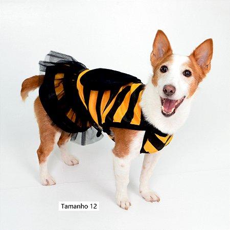 Vestido para Cachorros Abelha