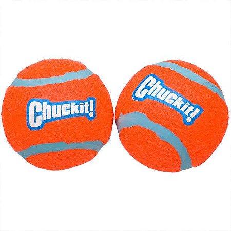 Brinquedo para Cachorros Bola de Tennis com 2 Chuckit