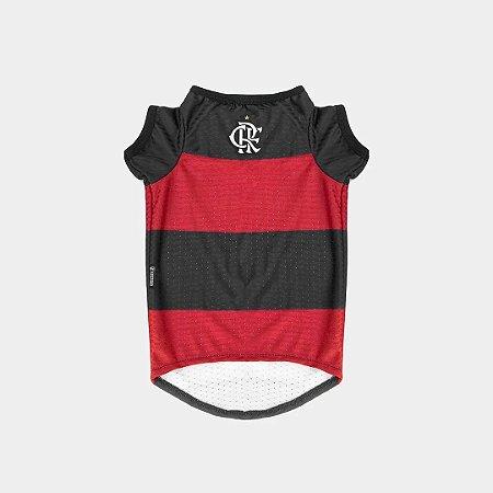Camiseta para Cachorros e Gatos Flamengo