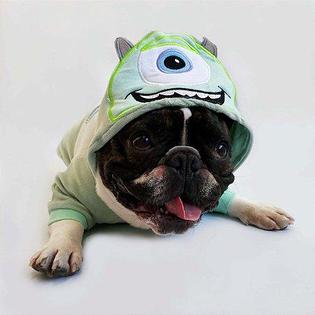 Blusa para Cachorros e Gatos Monstrinho Verde