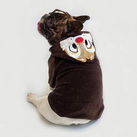 Blusa para Cachorros e Gatos Esquilo Focinho Vermelho