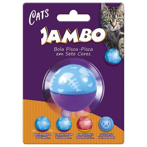 Brinquedo para Gatos Bola Flashing Cat Wobbler