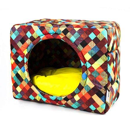Cama Toca para Cachorros e Gatos | Premium Colors Amarelo