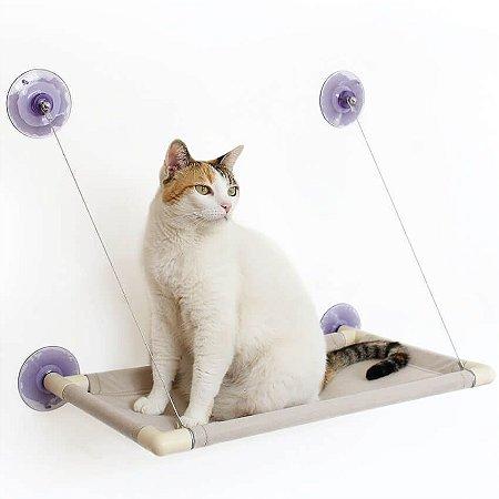 Cama de Janela para Gatos | Catbed Suede Marfim