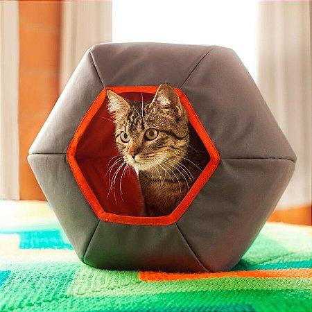 Toca Mundi para Gatos | Cinza