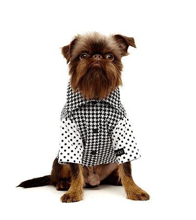 Camisa para Cachorros Pied Poule