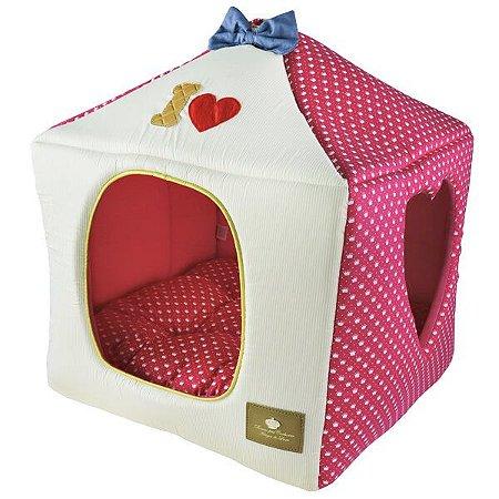 Casinha para Cachorros e Gatos | I Love Pink