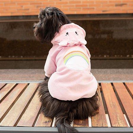 Moletom para Cachorros | Ursinhos Carinhosos Rosa Animadinha