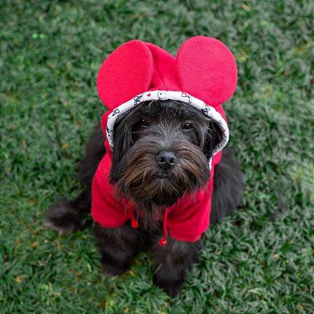 Moletom para Cachorros | Ratinho Love Vermelho