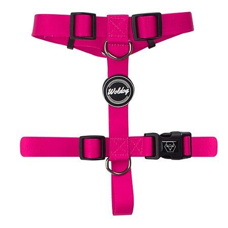 Peitoral H para Cachorros | In Pink