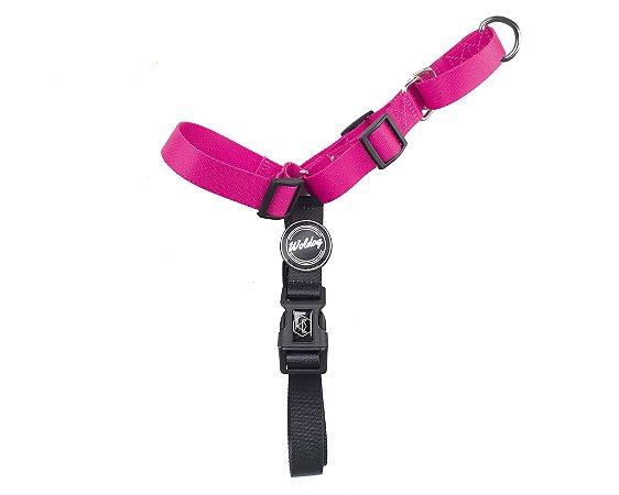 Peitoral Anti Puxão para Cachorros   In Pink