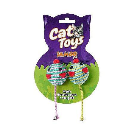 Ratinho Redondo para Gatos