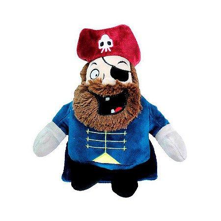 Brinquedo para Cachorros Pelúcia Pirata