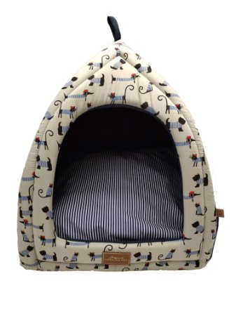 Cabana para Cachorros e Gatos Bistrô Azul