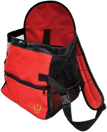 Mochila de Transporte Dog Bag Vermelha
