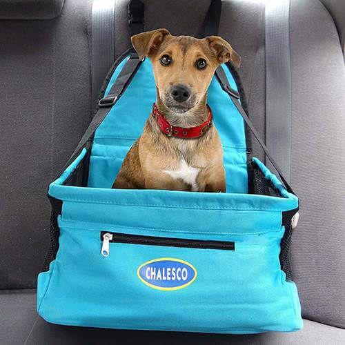 Assento para Veículos para Cachorros e Gatos Car Seat Azul