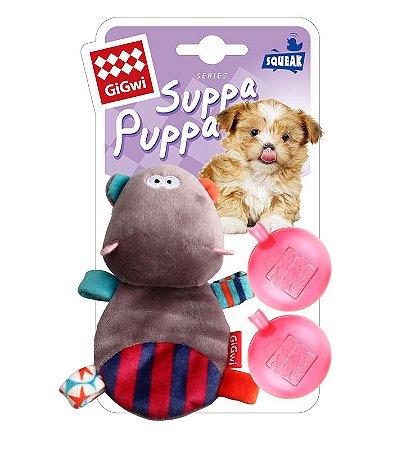 Brinquedo para Cachorros Suppa Puppa Hipopótomo