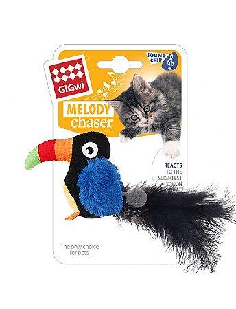 Brinquedo para Gatos Melody Chaser Tucano com Som